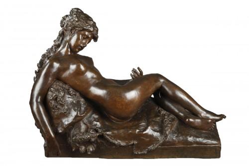Bacchante asleep - Prosper D'EPINAY (1836-1914)