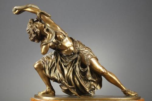 Dance of Carthage - Claire-Jeanne-Roberte COLINET (1880-1950) - Sculpture Style Art Déco