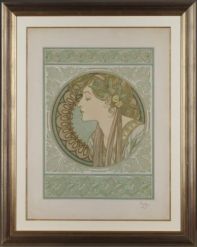 Laurel - Alphonse Mucha (1860-1939)