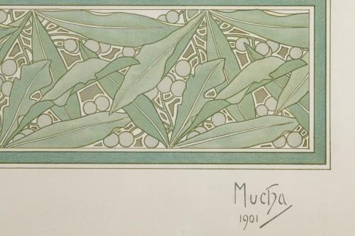 20th century - Laurel - Alphonse Mucha (1860-1939)
