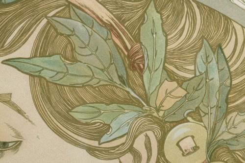 Laurel - Alphonse Mucha (1860-1939) - Art nouveau