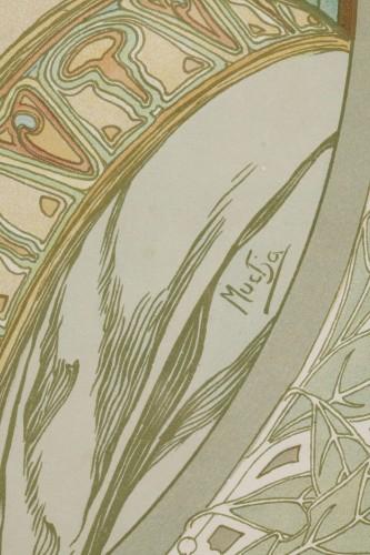 Art nouveau - Laurel - Alphonse Mucha (1860-1939)