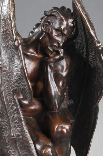 Satan - Jean-Jacques FEUCHERE (1807-1852) - Sculpture Style