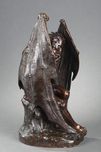 Sculpture  - Satan - Jean-Jacques FEUCHERE (1807-1852)