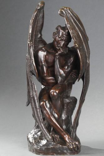 19th century - Satan - Jean-Jacques FEUCHERE (1807-1852)