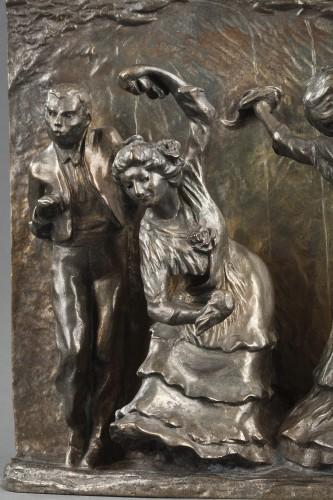 La Posada - François-Rupert CARABIN (1862-1932) - Sculpture Style Art nouveau