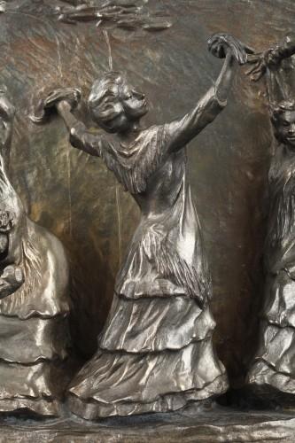Sculpture  - La Posada - François-Rupert CARABIN (1862-1932)