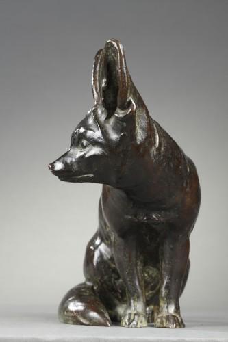 Sculpture  - Fennec - Edouard-marcel Sandoz (1881-1971)