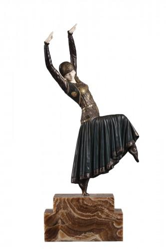 Vested Dancer - Demetre Chiparus (1886-1947)