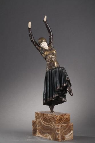 Vested Dancer - Demetre Chiparus (1886-1947) - Sculpture Style Art Déco
