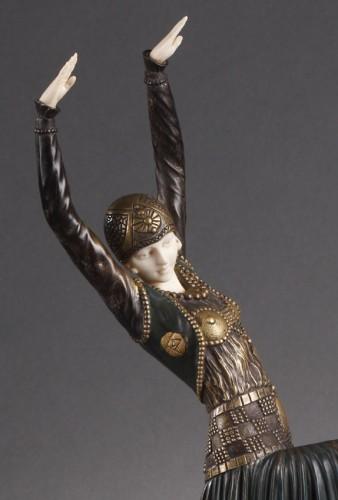 Vested Dancer - Demetre Chiparus (1886-1947) -