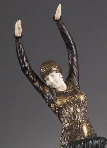 20th century -  Vested Dancer - Demetre Chiparus (1886-1947)