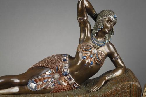 Cleopatra - Demetre Chiparus (1886-1947) - Sculpture Style Art Déco