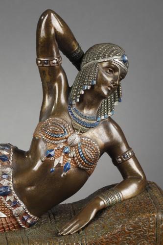 Sculpture  - Cleopatra - Demetre Chiparus (1886-1947)