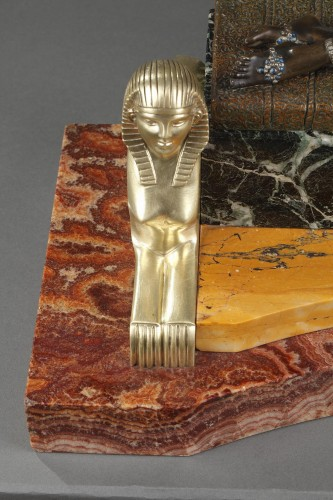 20th century - Cleopatra - Demetre Chiparus (1886-1947)