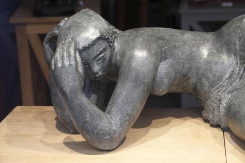 Sculpture  - Dreaming - Antoniucci Volti (1915-1989)