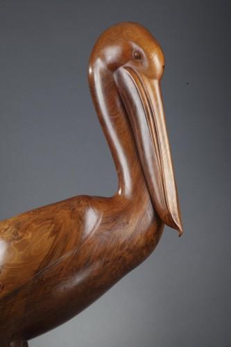 Pelican -  François GALOYER (né en 1944) - Sculpture Style