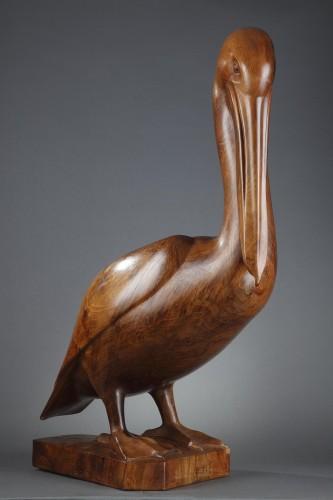 Sculpture  - Pelican -  François GALOYER (né en 1944)