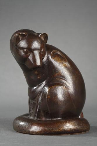 Genet - Gaston Le Bourgeois (1880-1956) - Sculpture Style Art Déco