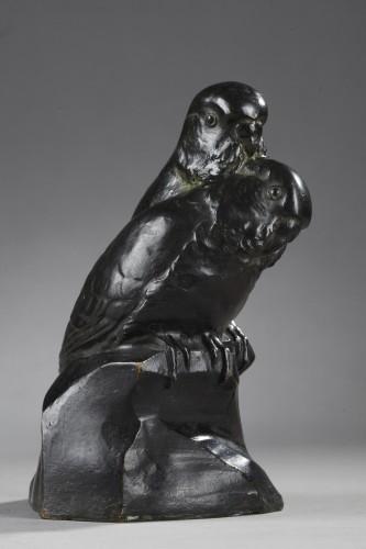 Two Parakeets - Edouard-marcel Sandoz (1881-1971) -