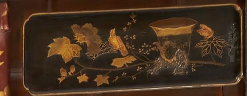 19th Century Japanese Shibayama Cabinet -