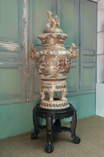 - Monumental Satsuma Vase