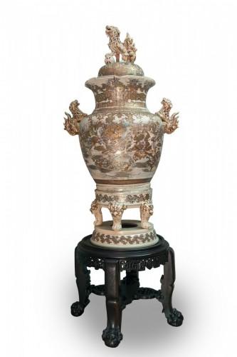Antiquités - Monumental Satsuma Vase