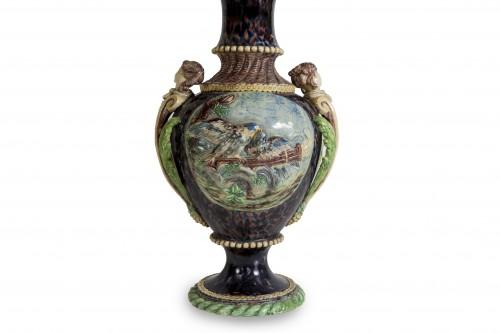 Lighting  - Thomas Victor Sergent, Vases montés en lampes