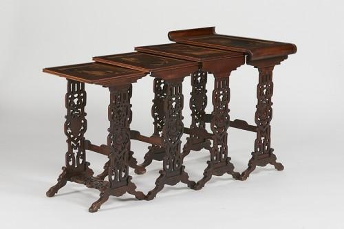 Nesting tables - Furniture Style Napoléon III