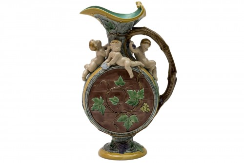 Harvest Ewer, H. Protât for the Minton factory
