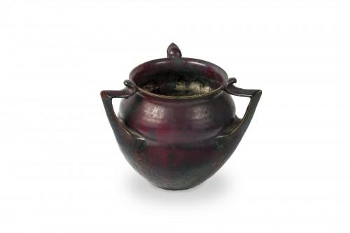 Cachepot with three handles -  Pierre-Adrien Dalpayrat (1844-1910) -