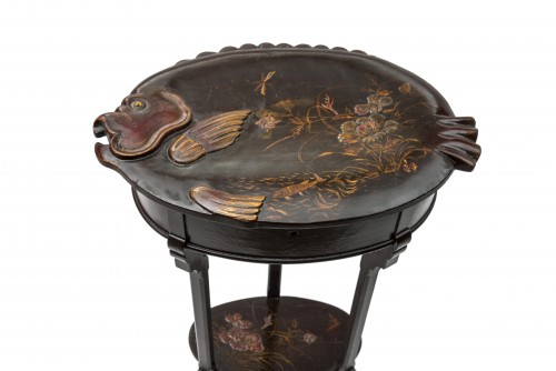 Worker in the shape of a fish - late 19th century - Furniture Style