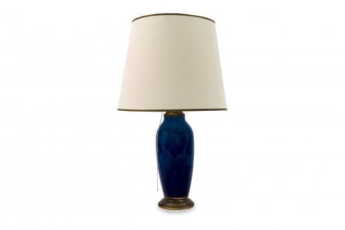 Blue lamp - Paul Milet  - Lighting Style