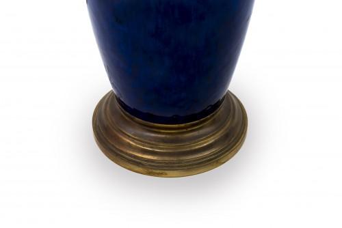Lighting  - Blue lamp - Paul Milet