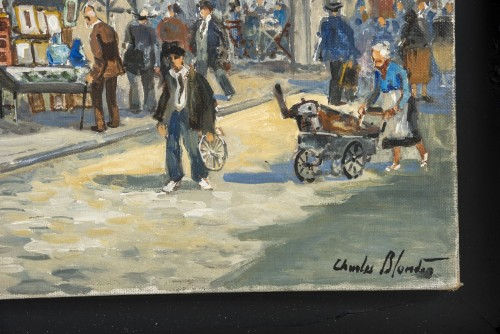 Paintings & Drawings  - Table of Biron fleamarket entry - Charles Blondin
