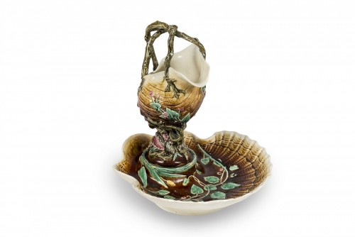 Antiquités - Shell centrepiece - Choisy-le-Roi, circa 1890