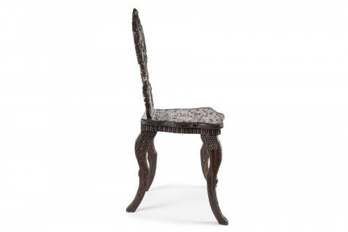 Wooden chair Black Forest, Germany - Late 19th century - Seating Style
