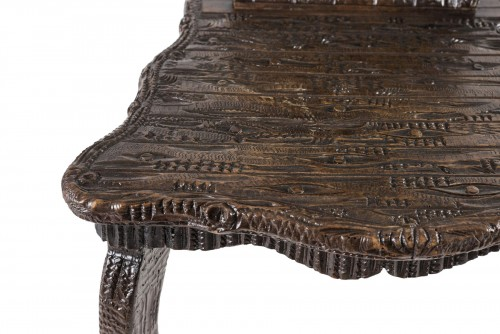 Wooden chair Black Forest, Germany - Late 19th century -