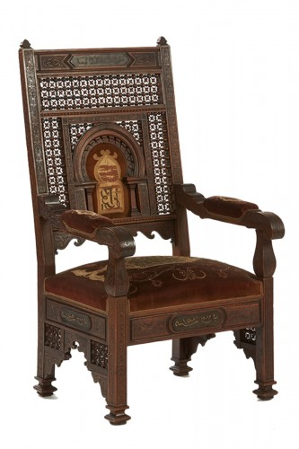 Syrian Armchair - Late 19th century