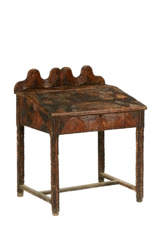 Germany, secrétaire made of wood and wood veneer, early 20th century