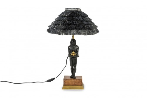 Lamp of Egyptian inspiration - 20th century