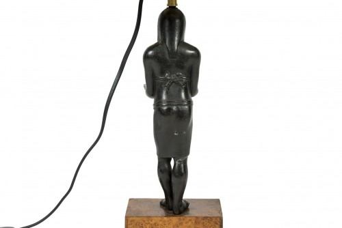 Lighting  - Lamp of Egyptian inspiration - 20th century