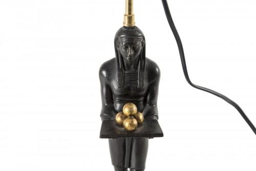 Lamp of Egyptian inspiration - 20th century -