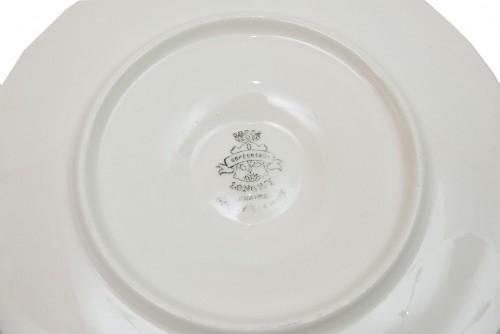 Oyster service - Manufacture des émaux de Longwy, France - Porcelain & Faience Style