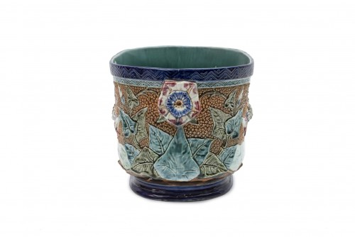 Set of ceramics - Manufacture d'Onnaing, France -