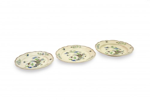 Keramis, Boch Frères, cornucopia dinner service, early 20th century - Porcelain & Faience Style