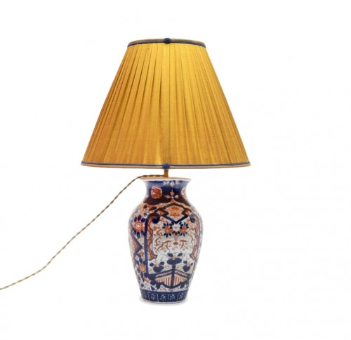 Imari Vase mounted as a lamp, end of the 19th century