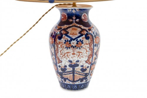Imari Vase mounted as a lamp, end of the 19th century - Lighting Style