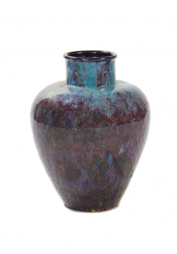 Primavera, France - iridescent vase, 20th century