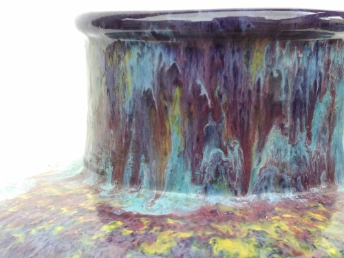 Porcelain & Faience  - Primavera, France - iridescent vase, 20th century